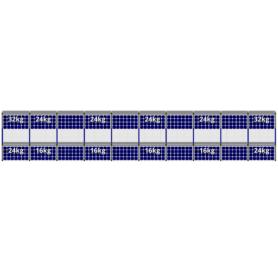 FlatFix Fusion 2 rijen van 10 zonnepanelen