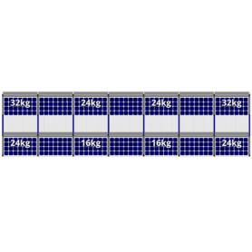 FlatFix Fusion 2 rijen van 7 zonnepanelen