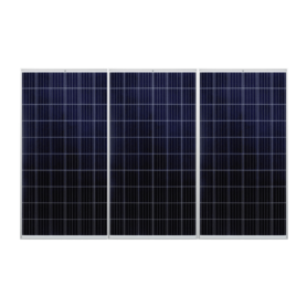 ClickFit EVO montagesysteem voor 3 panelen