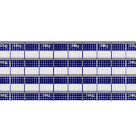 FlatFix Fusion 4 rijen van 10 zonnepanelen