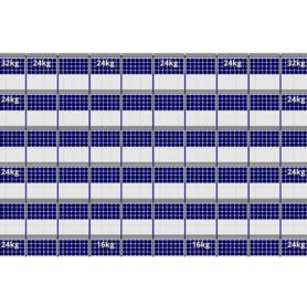 FlatFix Fusion 6 rijen van 10 zonnepanelen
