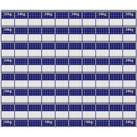FlatFix Fusion 8 rijen van 10 zonnepanelen