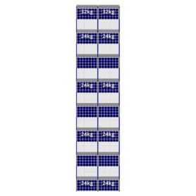 FlatFix Fusion 8 rijen van 2 zonnepanelen