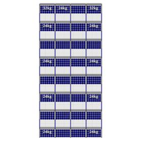 FlatFix Fusion 8 rijen van 4 zonnepanelen