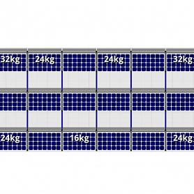FlatFix Fusion Zuid 3 rijen