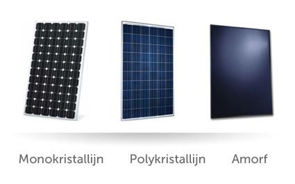 welke zonnepanelen