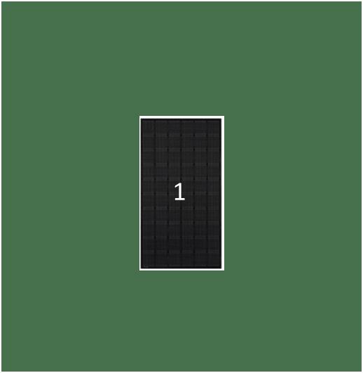 Clickfit Evo Zwart Staaldak Montage Voor 1 Paneel Bij