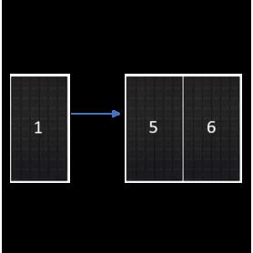 ClickFit EVO zwart portret 6 panelen