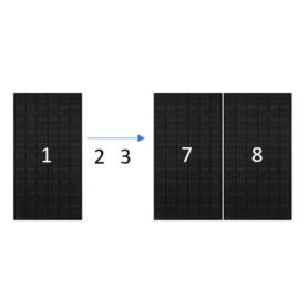 ClickFit EVO zwart portret 8 panelen