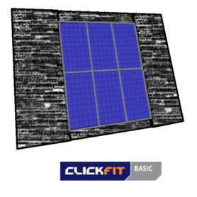 Clickfit bitumen dak portret