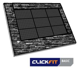 Clickfit bitumendak landscape zwart