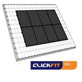 Clickfit evo zwart portret dakpannen