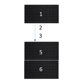 clickfit evo zwart 6 zonnepanelen landscape