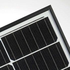 JA Solar zwart frame