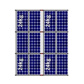 Flatfix fusion oost west 12 panelen 2 rijen