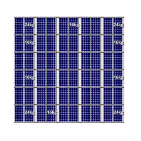 Flatfix fusion zuid opstelling 60 panelen 5 rijen