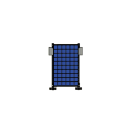 Valk solar portret 1 paneel