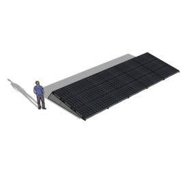 Chiko Zonneschans 15 panelen 5 rij Solar Garant