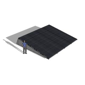 Zonneschans 20 panelen 4 rij Solar Garant