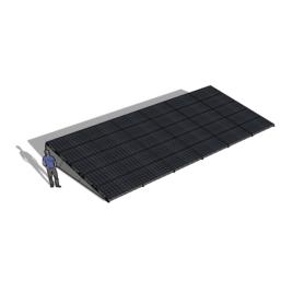 Zonneschans 30 panelen 6 rij Solar Garant