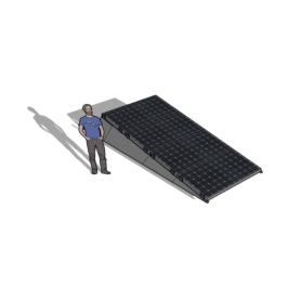 Chiko Zonneschans 4 panelen 1 rij Solar Garant
