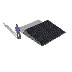 Zonneschans 6 panelen 2 rij Solar Garant