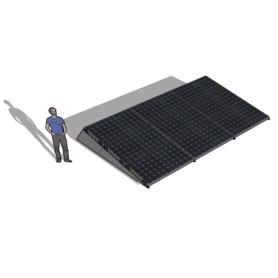 Zonneschans 9 panelen 3x3 rij Solar Garant